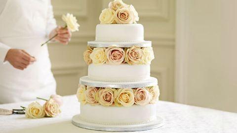 20 esküvői torta, amit nem lenne szívünk felvágni