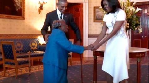 106 éves nő táncolt Obamáékkal a Fehér Házban – videó