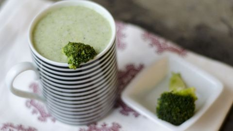Mascarponés brokkolikrémleves, üdv a levesmennyországból