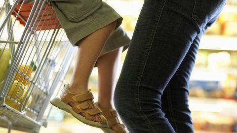 Bevásárlás: gyerekek előtt vs. gyerekek után