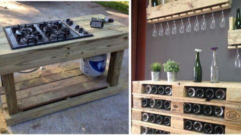 10 szuper kerti bútor raklapokból összeállítva