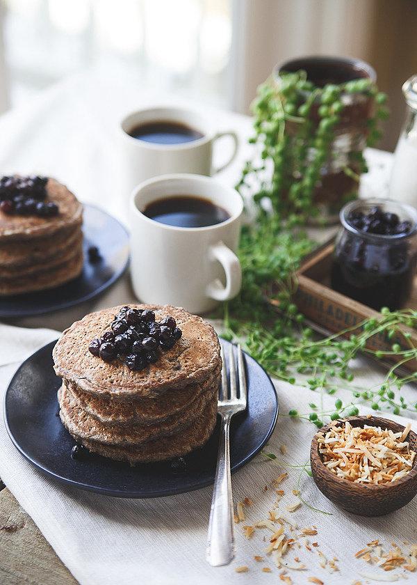 Szuperegészséges reggeli: zabkorpás-hajdinás palacsinta