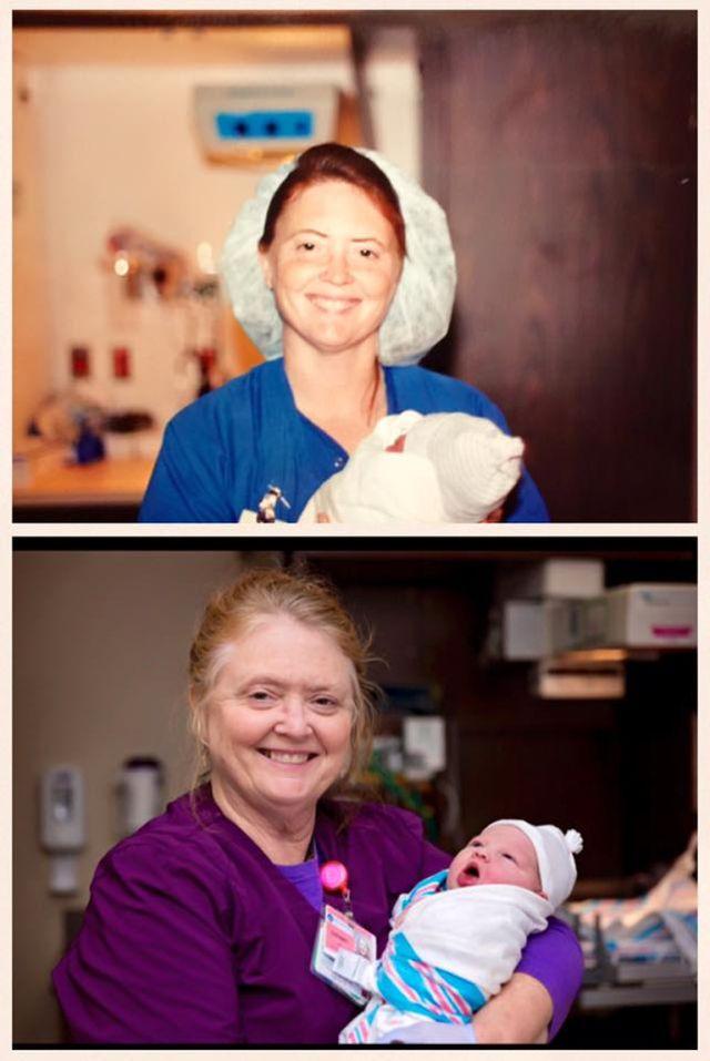 Íme a nővérke, aki anyát és lányát is világra segítette