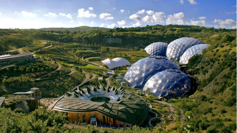 A cornwalli Eden Project a minta Fotó: Edenproject.com