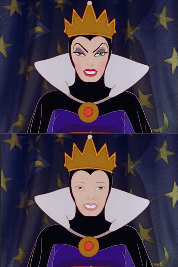 Smink nélkül még rémisztőbbek a Disney-gonoszok - galéria