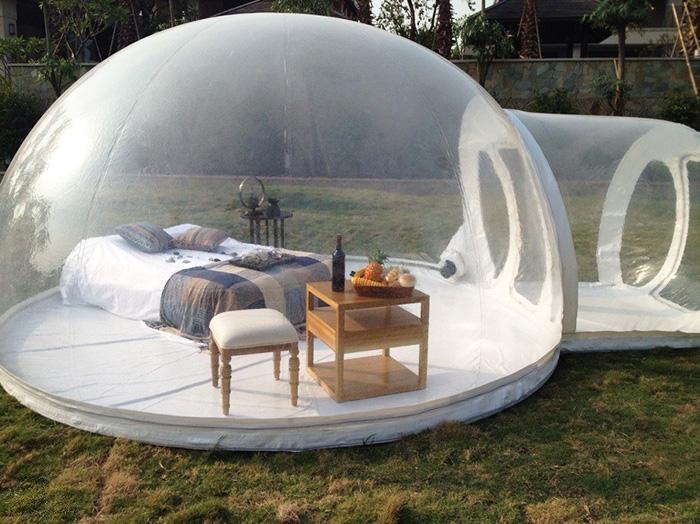 Tutira ez a világ legmenőbb sátra
