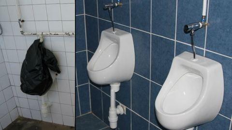 Nézegessetek magyar iskolai mosdókat – felújítás előtt és után!