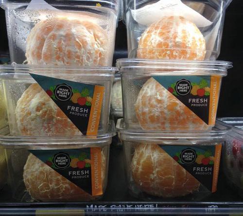 Hámozva árulta a mandarint egy amerikai üzletlánc