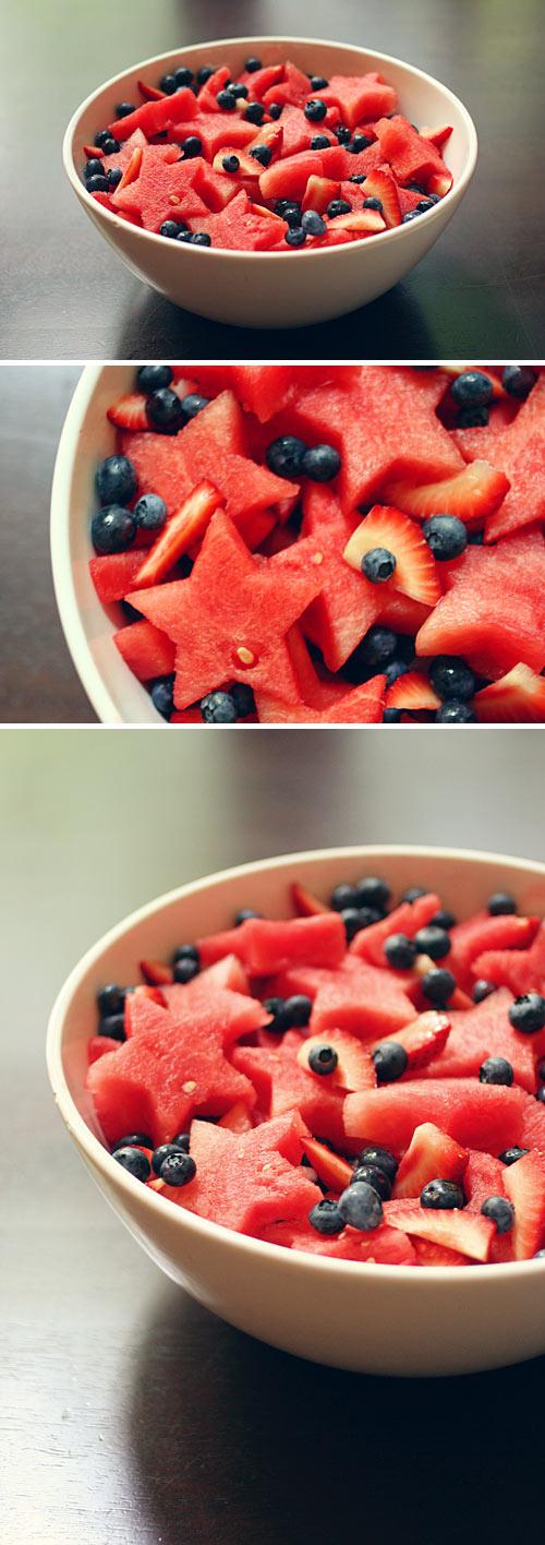 A csillagalakú gyümölcssaláta feldobja a napod!