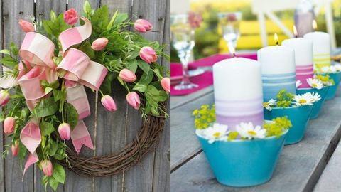 Sziporkázó színkavalkád: 15 ötletes tavaszi dekoráció otthonra