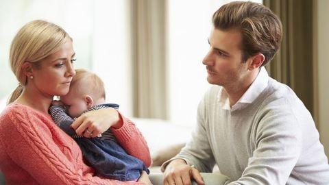Az apákat is leterítheti a szülés utáni depresszió