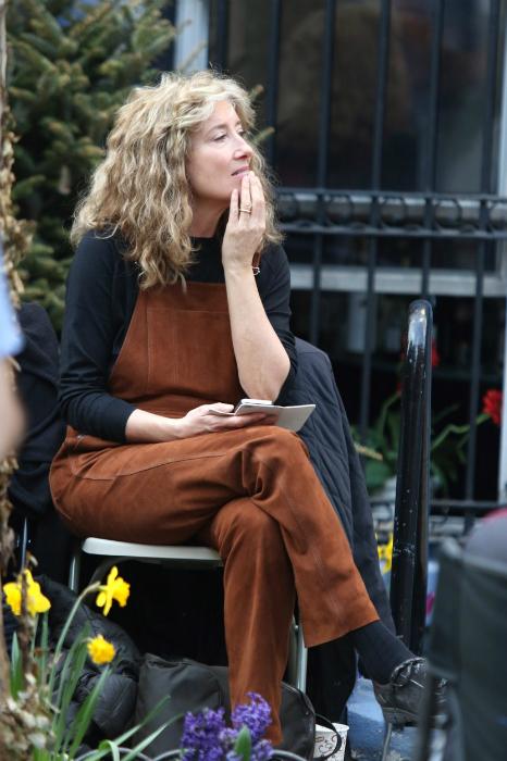 Emma Thompson táskás szemmel és smink nélkül