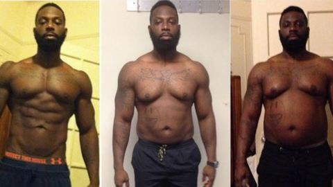 Direkt felszedett 32 kilót az edző, hogy motiválja a vendégét
