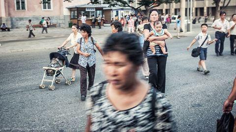 Illegálisan fotózott Észak-Koreában egy lengyel fotós