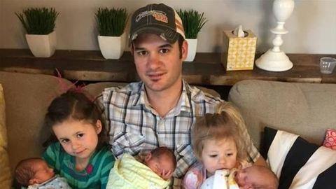 Hármas ikrek mellett két kislányt hagyott hátra a fiatal nő