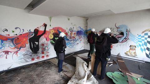 Magányos graffitik, titkos filmtekercsek, elhagyott épületek Budapest szívében
