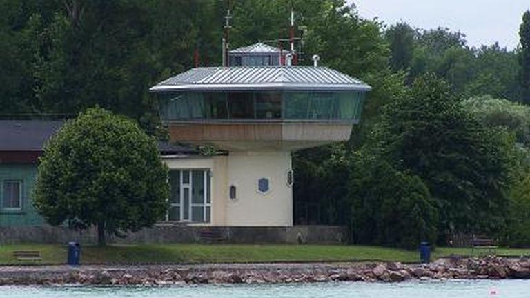 A Siófoki Viharelőrejelző Állomás épülete