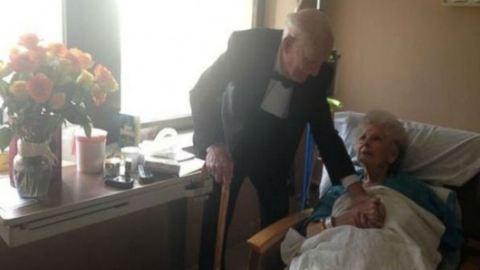 Hatalmas meglepetést szerzett kórházban fekvő feleségének a férj