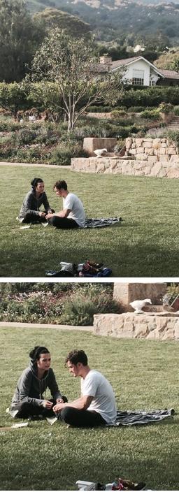 Katy Perry és Orlando Bloom nyalja-falja egymást a parkban
