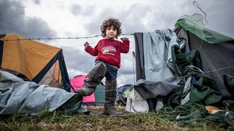 Ha jön a háború, menni kell. Akár újszülöttel is – képriport a menekülttáborból