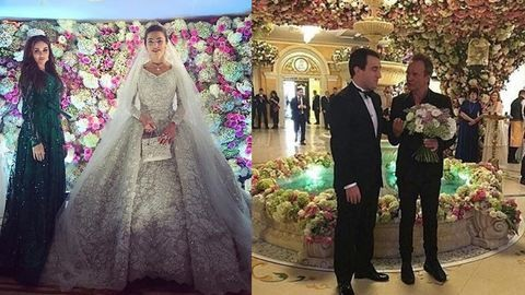 Itt vannak a fotók arról az esküvőről, ami 277 milliárd forintba került