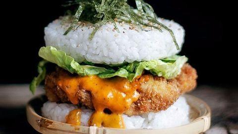 Őrület: megérkezett a szusiburger