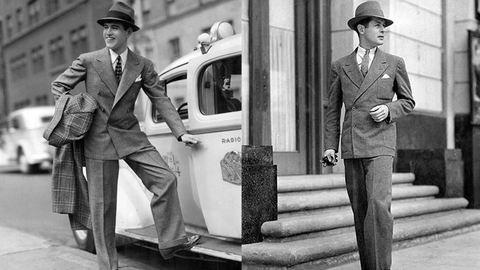 Elegancia a köbön: férfidivat az 1930-as évekből