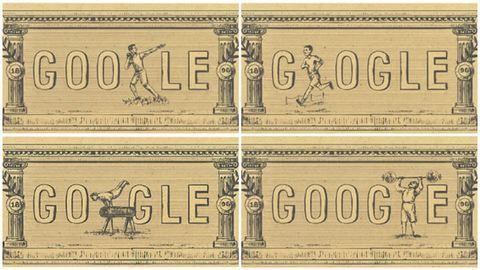 Így tiszteleg az első olimpia előtt a Google