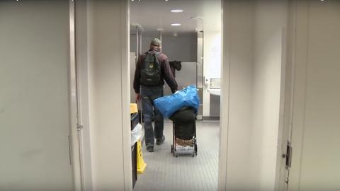 Hajléktalanoknak segít a közkönyvtár