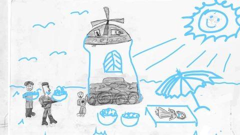 Rajzolj boldog jövőt a szomorú gyerekeknek!