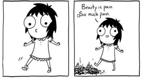 Mert nőnek lenni nehéz – 5 elbűvölő rajz mutatja, hogy mennyire