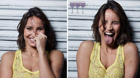 Így néznek ki az emberek 1, 2 és 3 pohár bor után – fotók