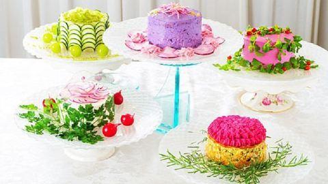 Ilyen egészséges desszertet még nem láttál: salátából készült torták