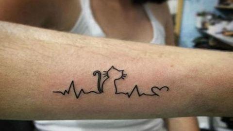 Kreatív tetoválások állatbolondoknak – fotók