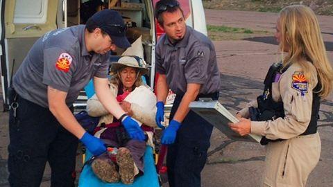 Hihetetlen: 9 napot túlélt a vadonban a 72 éves néni és kutyája