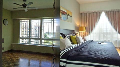 Szuper lakásátalakítások – előtte-utána fotók