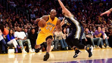 Kobe Bryant visszavonult – akkor kezdett kosarazni, amikor Diana elvált Károlytól