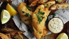 Gyors vacsora, ahogy az angolok szeretik: fish & chips