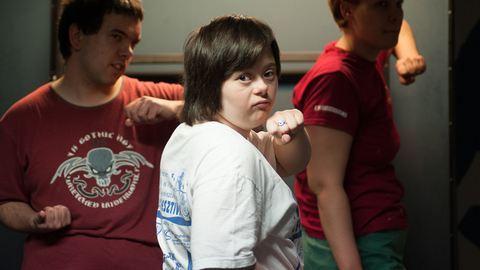 Önkéntesként tart kempóedzést Down-szindrómásoknak egy magyar egyetemista