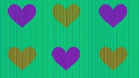Az internet népe elbukott a szívecskék színének megállapításában – te kitalálod, milyen színűek?