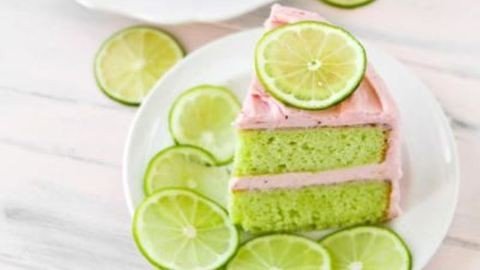 Könnyű nyári édesség recept: eperkrémes lime-torta
