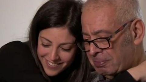Betegsége sem riaszthatja vissza az apát, hogy beszédet mondjon lánya esküvőjén