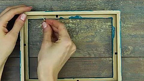 Csodás 5 perces ötlet: fali kulcstartó házilag