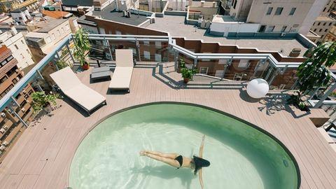 Ennél a tetőteraszos madridi lakásnál ma már nem látsz menőbbet – képek