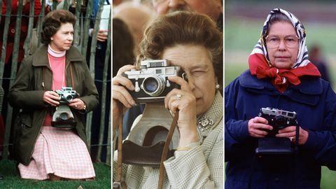 Ezek a fotók bizonyítják: II. Erzsébet királynő a lovak és a fotózás szerelmese