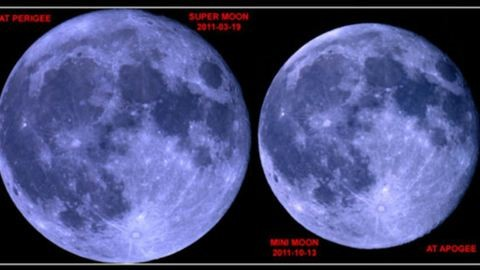 Ritka jelenség: mini-Hold lesz pénteken