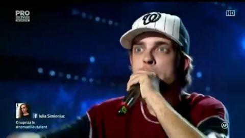 Magyar rapper tarolt a román tehetségkutatóban