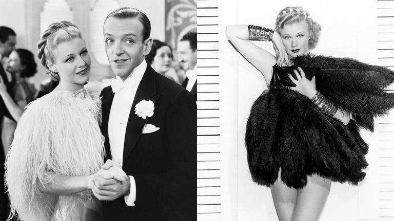 Ginger Rogers ugyanazt tudta, mint Fred Astaire, de tűsarkúban