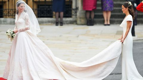 Lopás volt Katalin hercegné menyasszonyi ruhája?