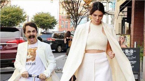 A bajszos úr, aki megtrollkodta Kendall Jenner képeit, újra lecsapott